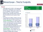bidvest europe thirst for foodprofits1