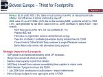 bidvest europe thirst for foodprofits2