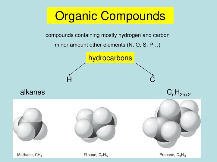 Organic Compounds