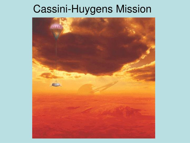 Cassini-Huygens Mission