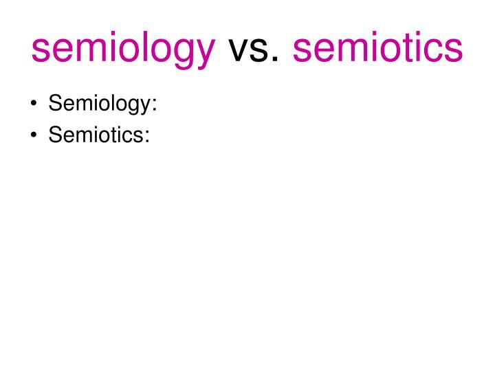 semiology