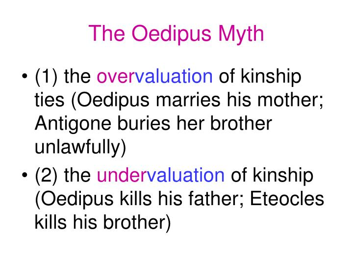 The Oedipus Myth