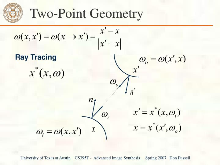 Two-Point Geometry