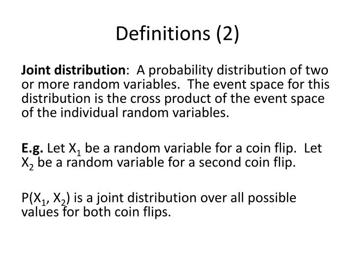 Definitions (2)