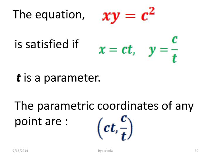 The equation,