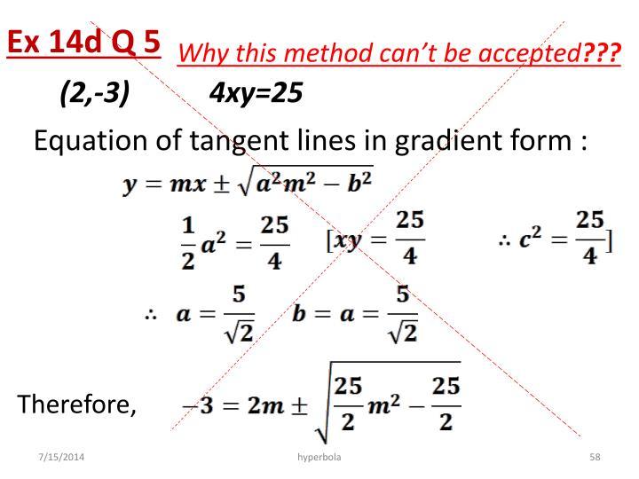 Ex 14d Q 5