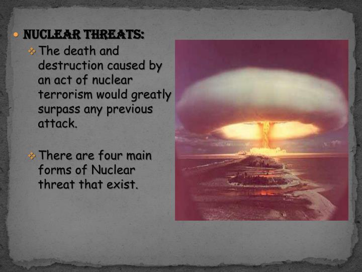 Nuclear Threats: