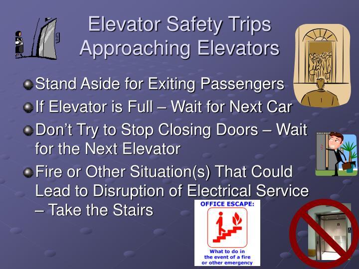 Elevator Safety Trips