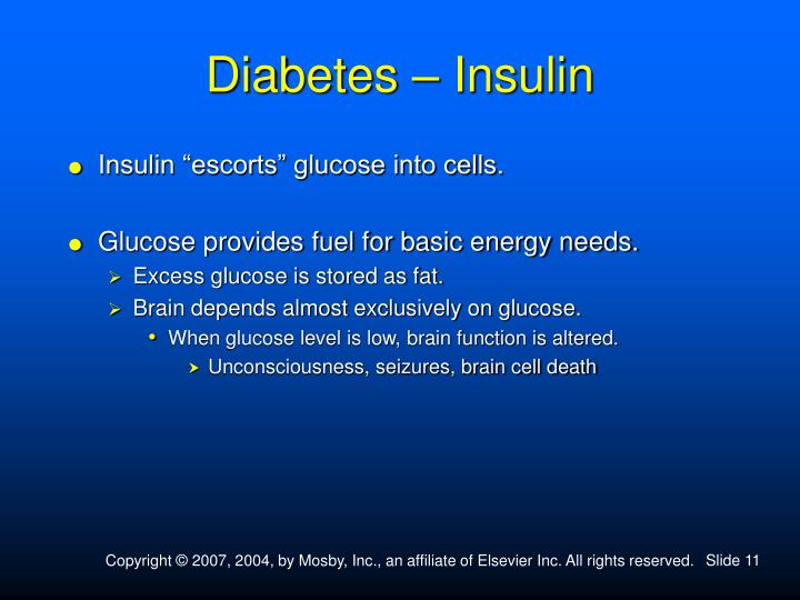 Diabetes – Insulin