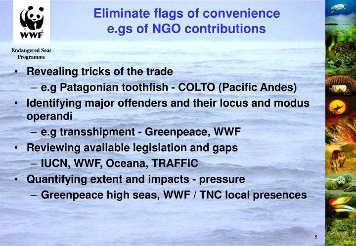 Eliminate flags of convenience