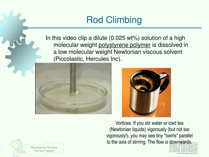 Rod Climbing