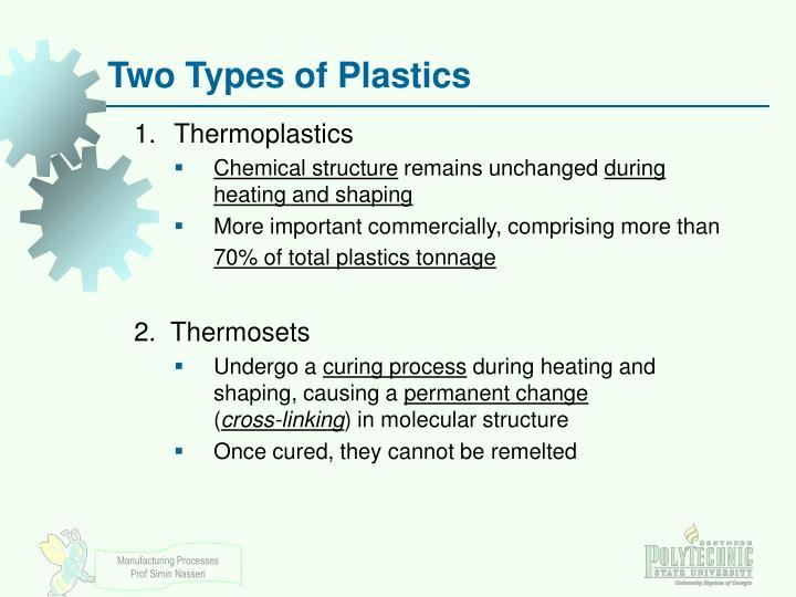 Two Types of Plastics