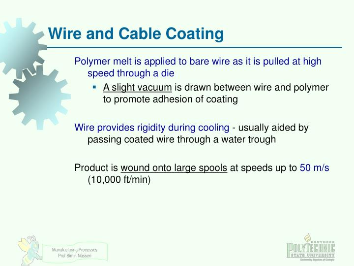 Wire and Cable Coating