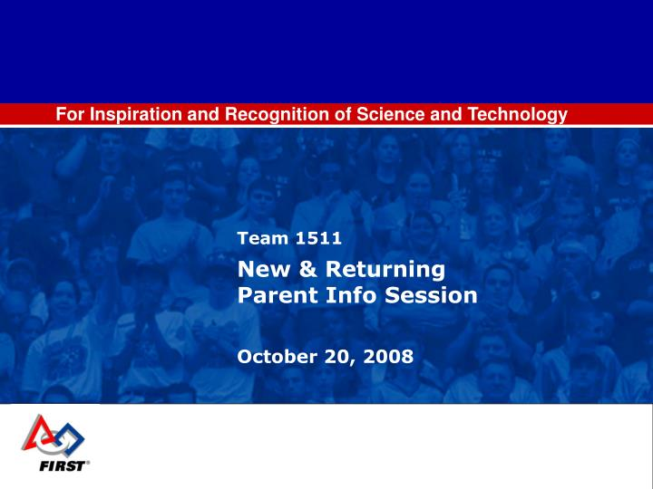 For Inspiration and Recognition of Science and Technology