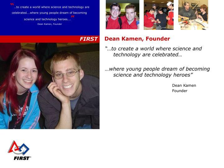Dean Kamen, Founder