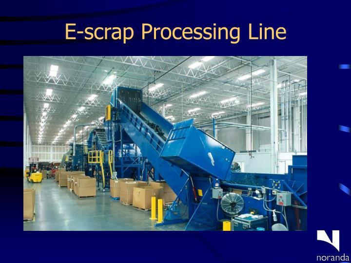 E-scrap Processing Line