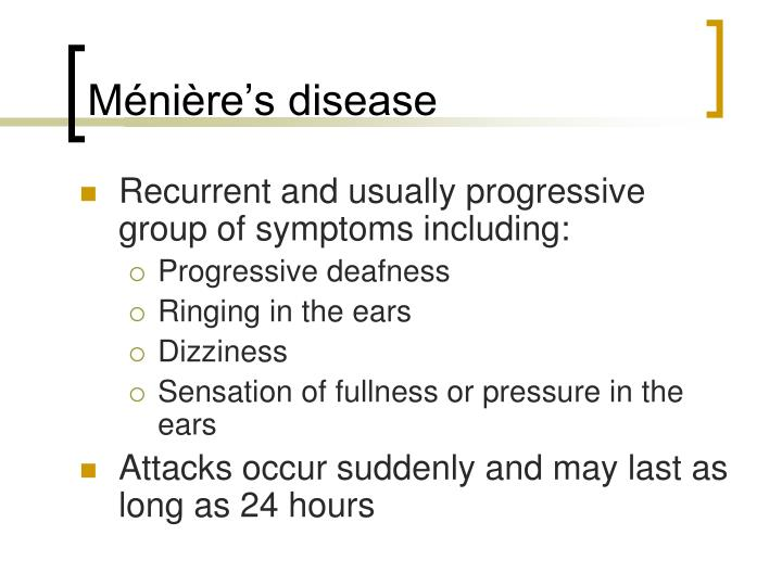 Ménière's disease