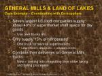 general mills land of lakes case example coordinating with co suppliers