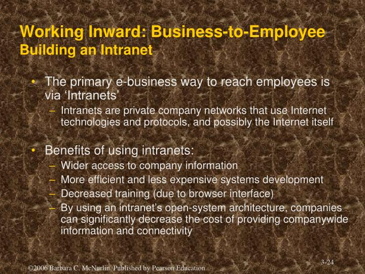 Working Inward: Business-to-Employee