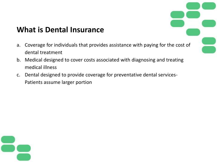 What is Dental Insurance
