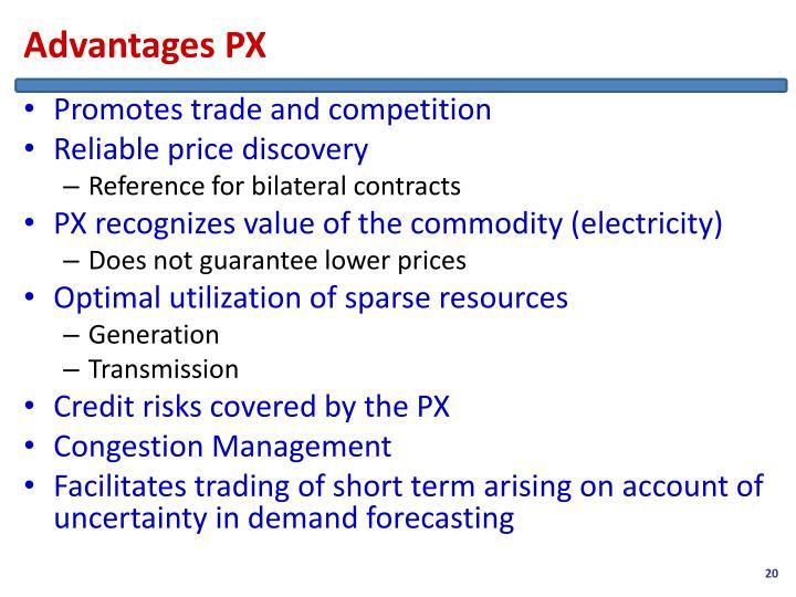 Advantages PX