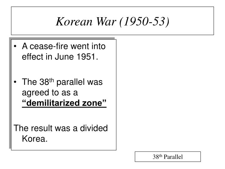 Korean War (1950-53)