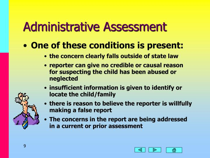 Administrative Assessment