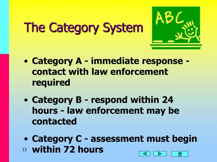 The Category System