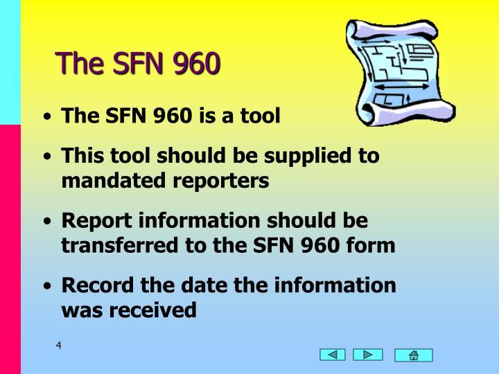 The SFN 960