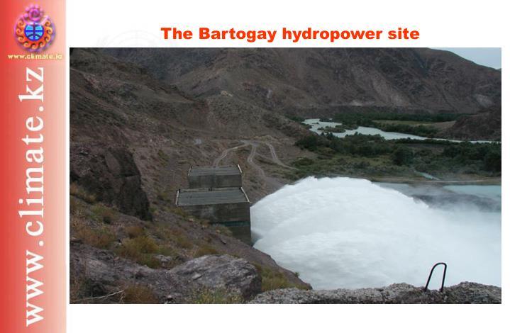The Bartogay hydropower site