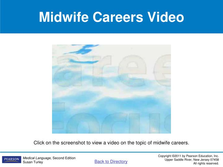 Midwife Careers Video