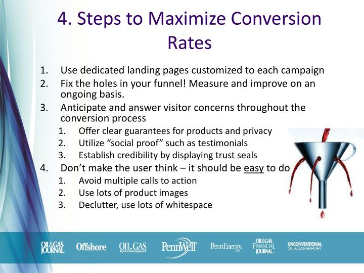4. Steps to Maximize Conversion Rates