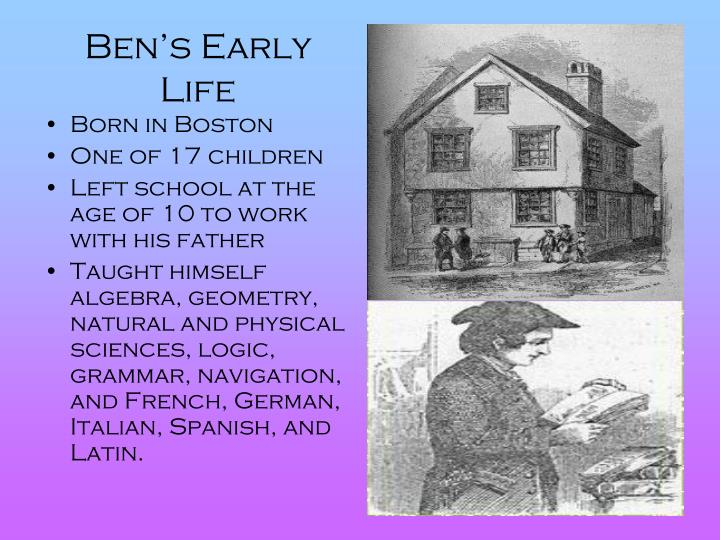 Ben's Early Life