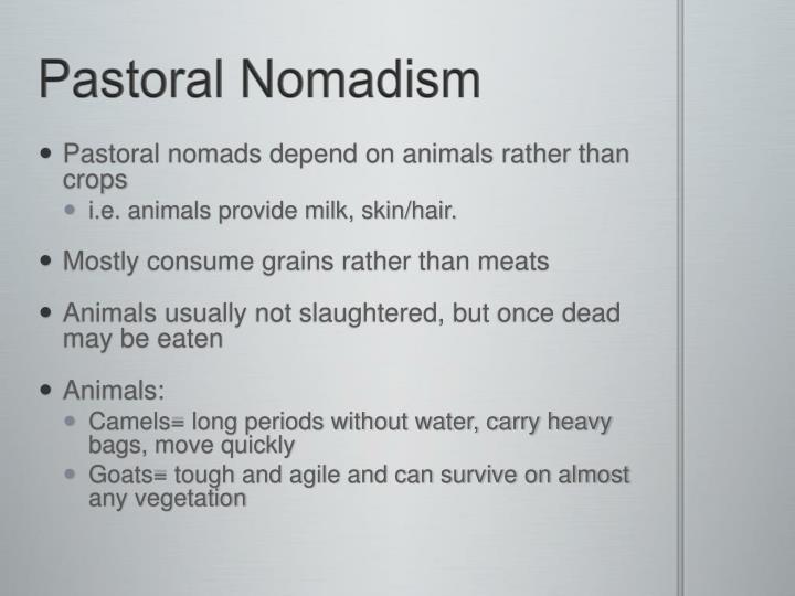 Pastoral Nomadism