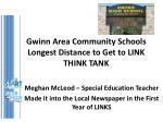 gwinn area community schools longest distance to get to link think tank