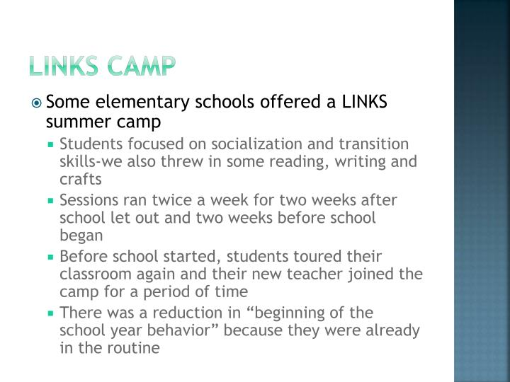 LINKS camp
