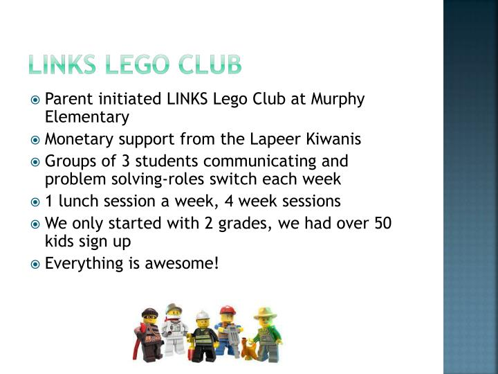 Links Lego club