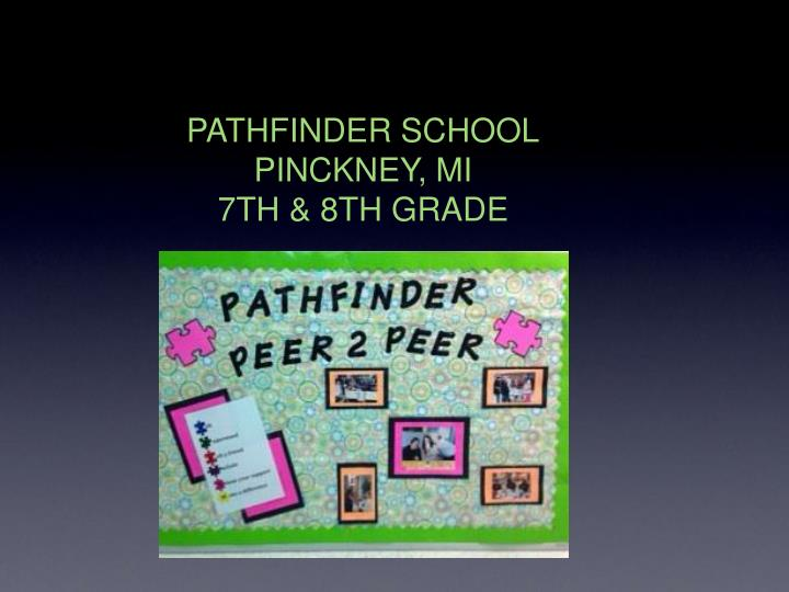 PATHFINDER SCHOOL