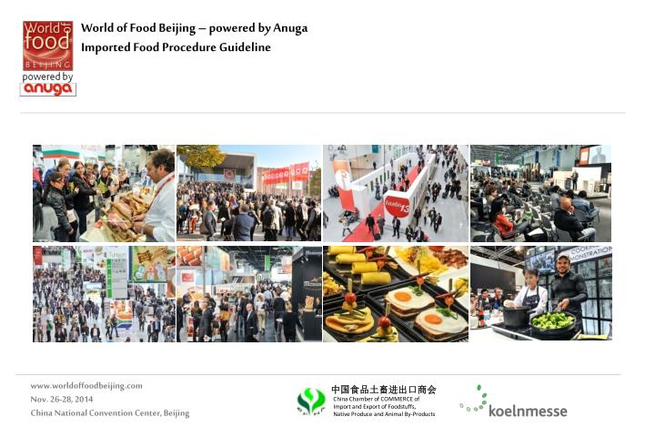 World of Food Beijing – powered by
