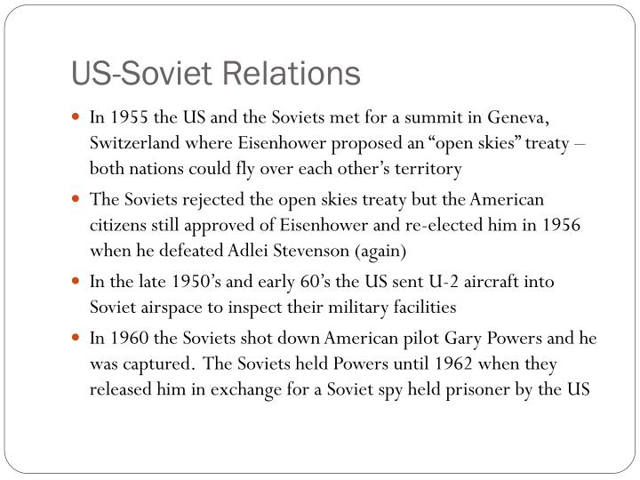 US-Soviet Relations