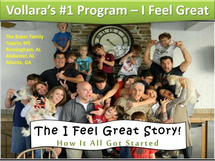 Vollara's #1 Program – I Feel Great