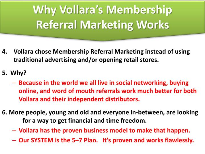 Why Vollara's Membership