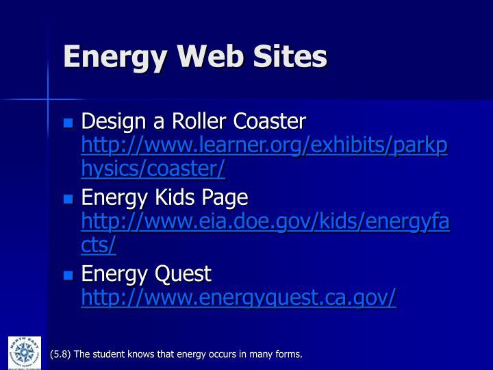 Energy Web Sites