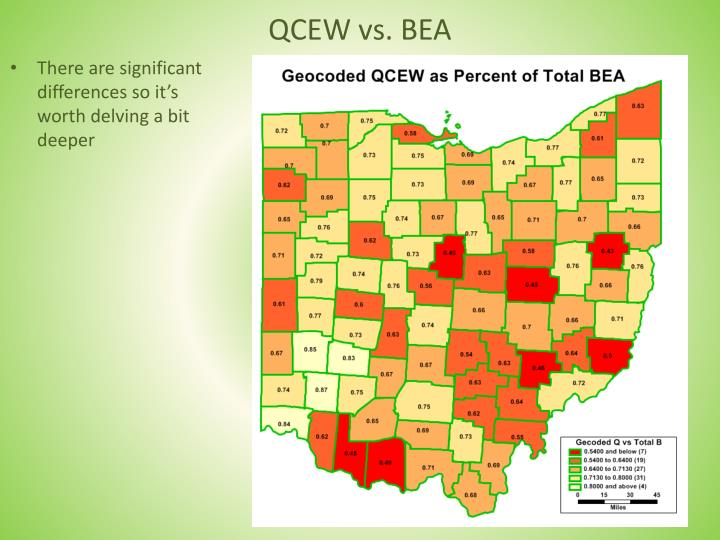 QCEW vs. BEA
