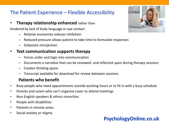 The Patient Experience – Flexible Accessibility