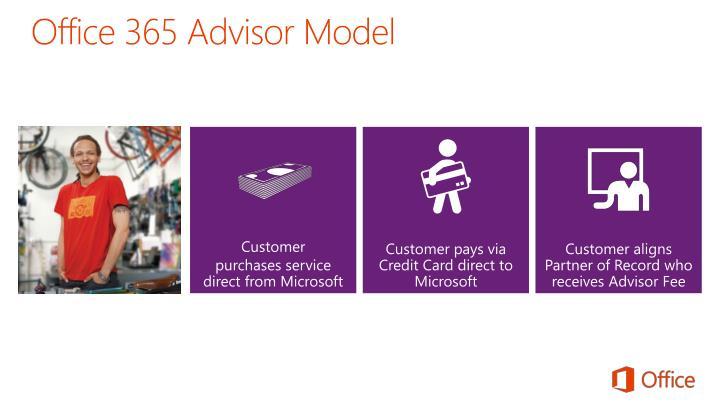 Office 365 Advisor Model