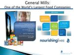 general mills one of the world s largest food companies