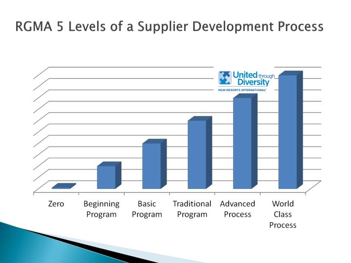 RGMA 5 Levels of a Supplier Development Process