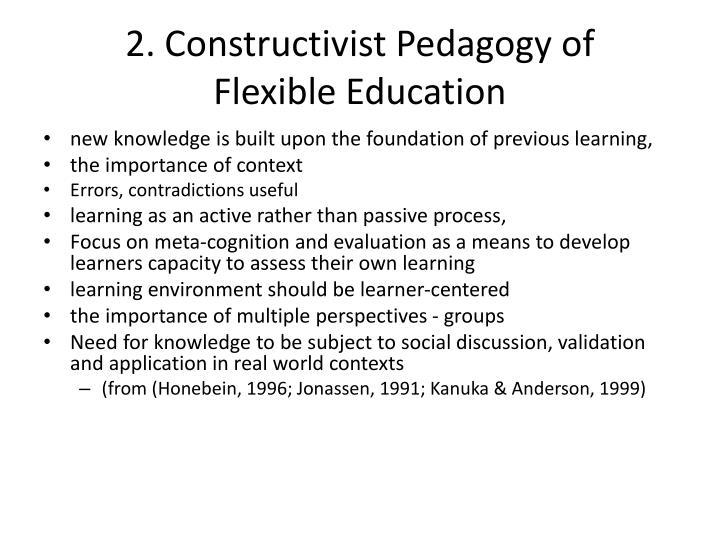 2. Constructivist Pedagogy of