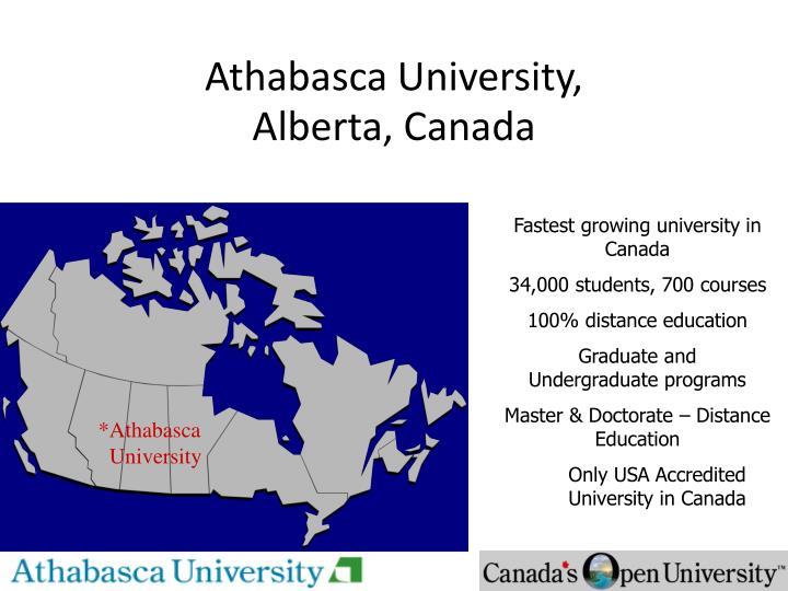 Athabasca University,
